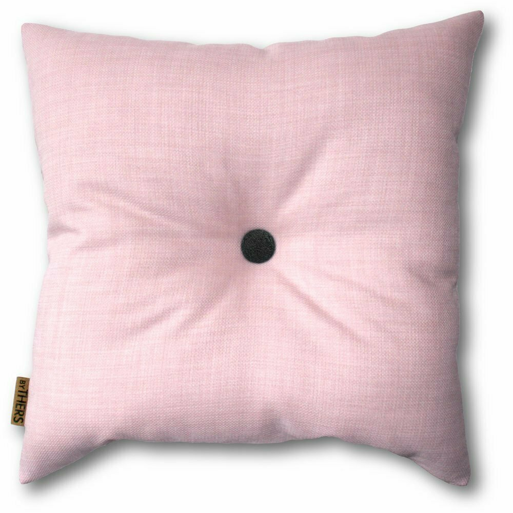 Sart rosa pude med knap