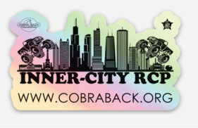 INNER-CITY RCP Holographic Sticker(2)