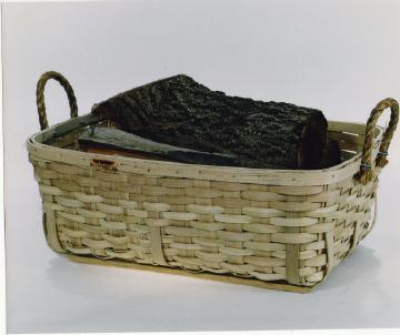 Fish-Firewood - 29x19x10, Rope Handles