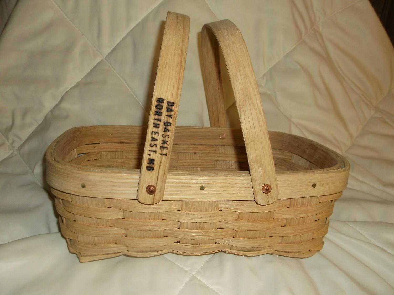Apple Basket - 13x8.5x5, Drop Handle