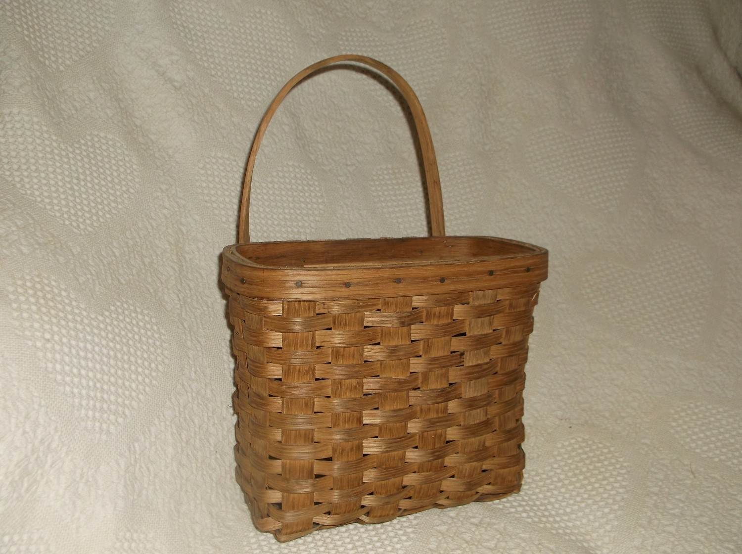 Wall Magazine Basket - 9.5x6x8.5