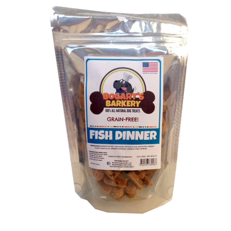 GRAIN-FREE FISH DINNER 8 oz.