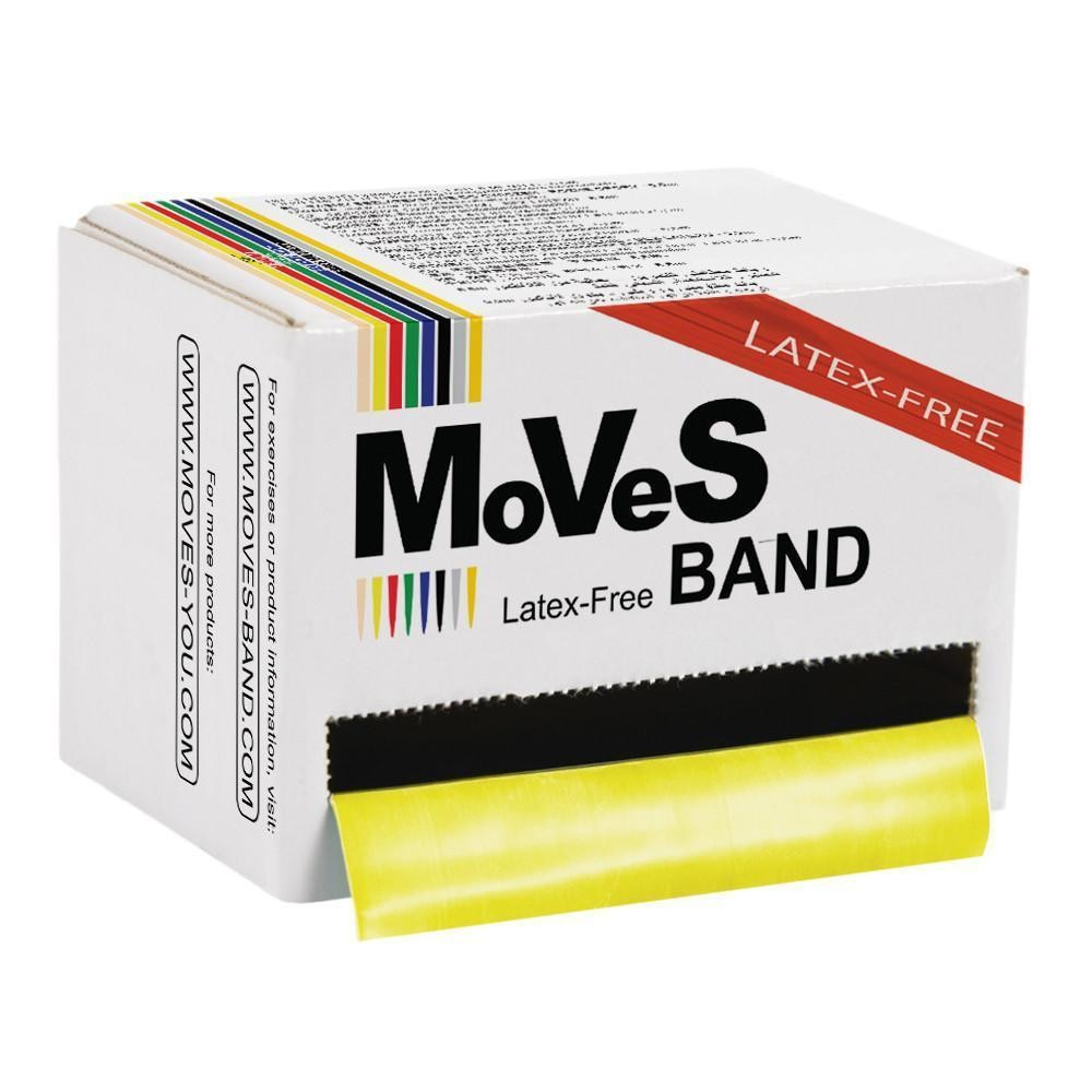MVS Band Gul 45,5 m lätt LATEXFRI