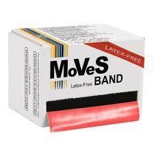 MVS Band Röd 45.5m medium LATEXFRI