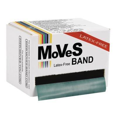 MVS Band Grön 45.5m hård LATEXFRI