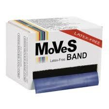 MVS Band Blå 45.5m Xhård LATEXFRI
