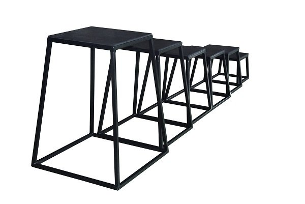 Plyo/Hoppbox set m 4st, 30,45,60,75cm