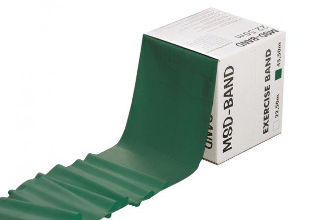 MVS Band Grön 45.5m hård