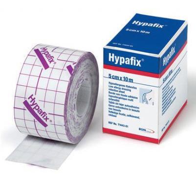 Hypafix , självhäftande underlagstejp