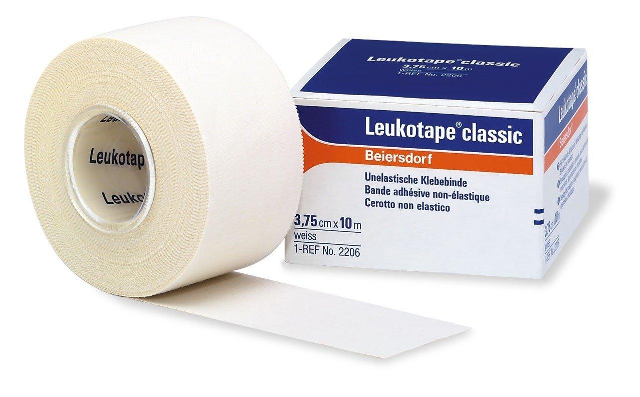 Leukotape Classic  3,75cm x 10 m, förpackning med 12 st