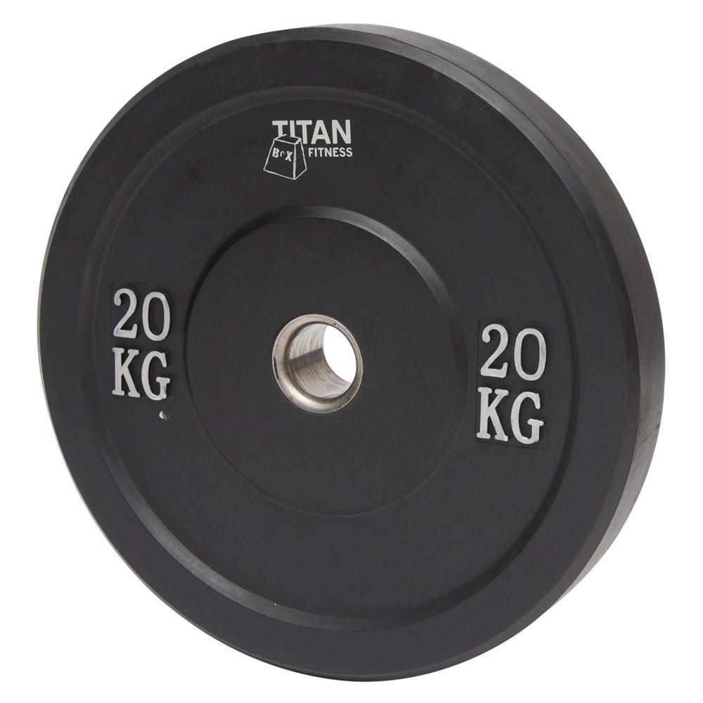 Titan Rubber Bumper Plate 20 kg