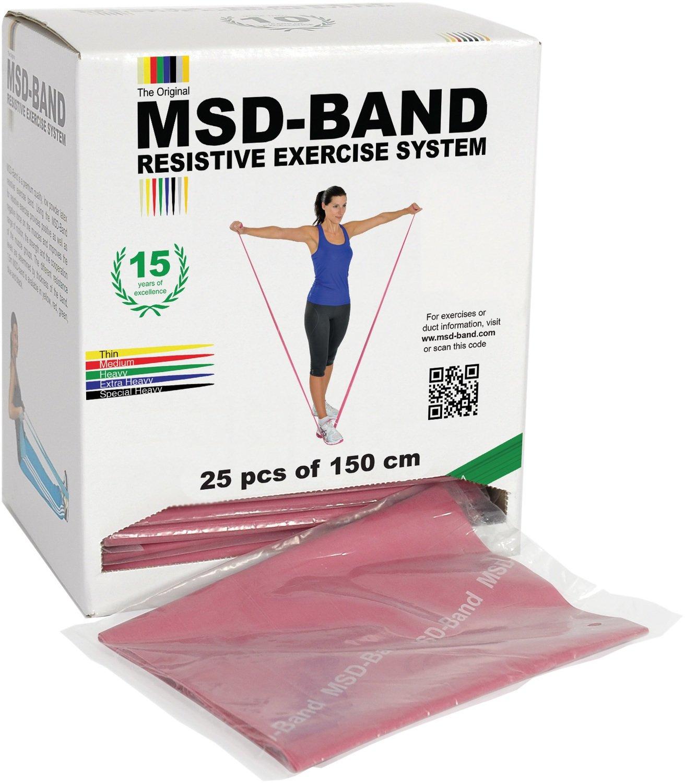 MVS Band 1.5m x 25st Röd kundförpackade