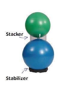 Pilatesball Stacker , Fp 3st.