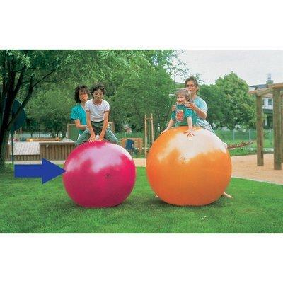 ABS Pushboll 95cm TOGU Rubinröd