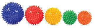 Piggboll/ Känselboll olika storlekar 6-10cm