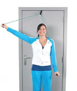 Axeldrag / dragapparat med dörrankare