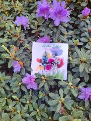 Spring Edition She/Her Pronoun Pin