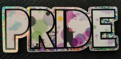 Glitter Gender Identity Pride Sticker