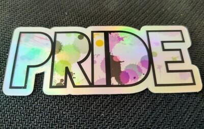 Gender Identity Pride Holographic Sticker