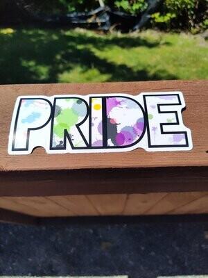 Large Gender Identity Sticker