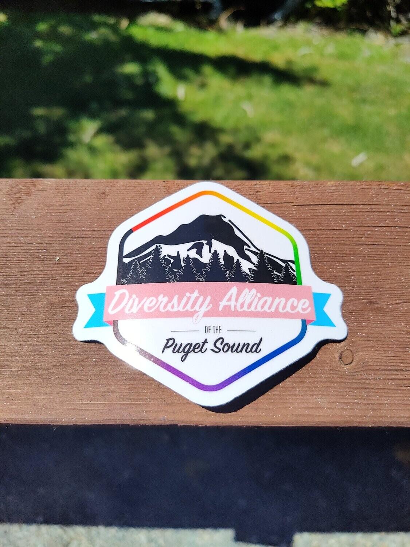 Large Logo Sticker