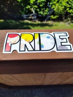 Pride Rainbow Sticker Bundle