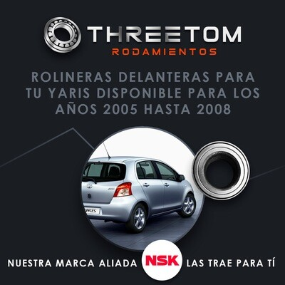 Rolinera Delantera Toyota Yaris (06-09)