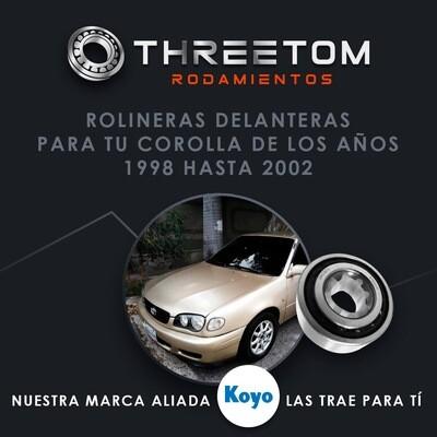 Rolinera Delantera Toyota Corolla (98-02)