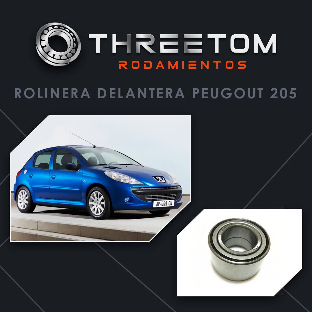 Rolinera Delantera Peugeot 206