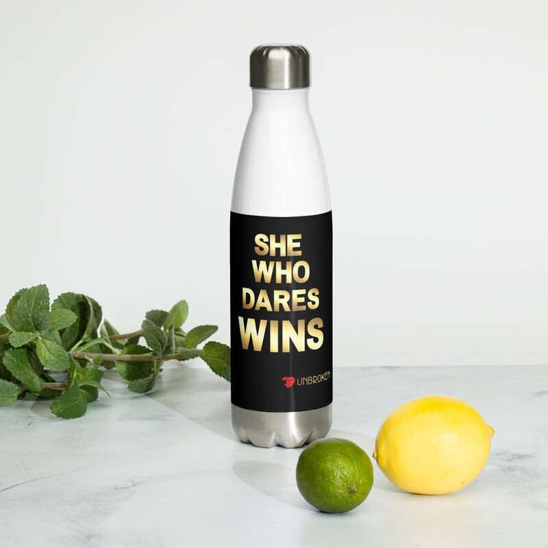 Dare to Win Insulated Water Bottle