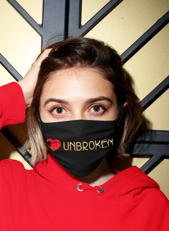 Unbroken Black Mask