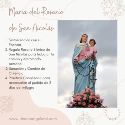 MADRE DIVINA-María del Rosario de San Nicolás