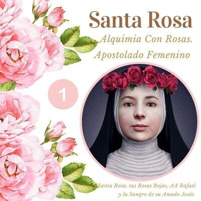 SANTA ROSA 1 -Alquimia con Rosas Cuánticas