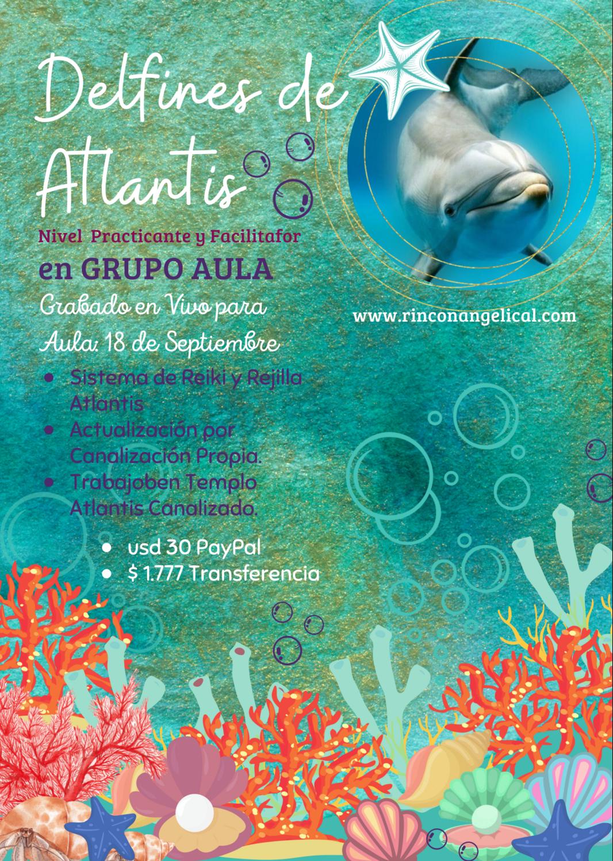 Delfines de Atlantis (Facilitador y Maestro)