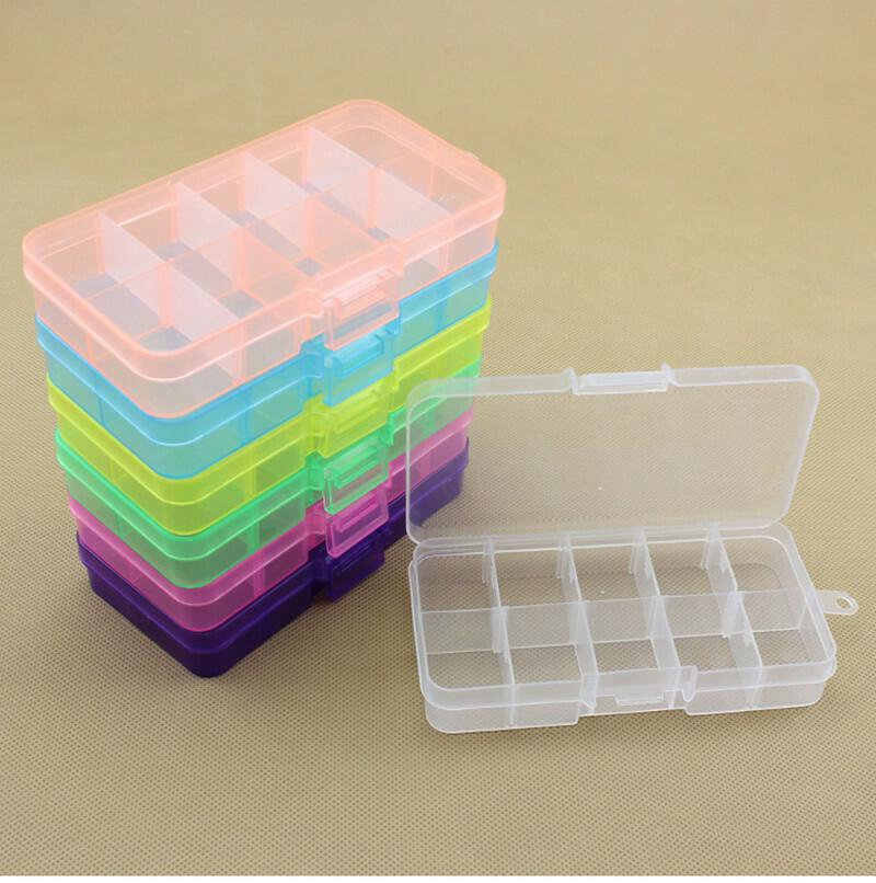 Caja organizadora, multiuso  10 compartimentos