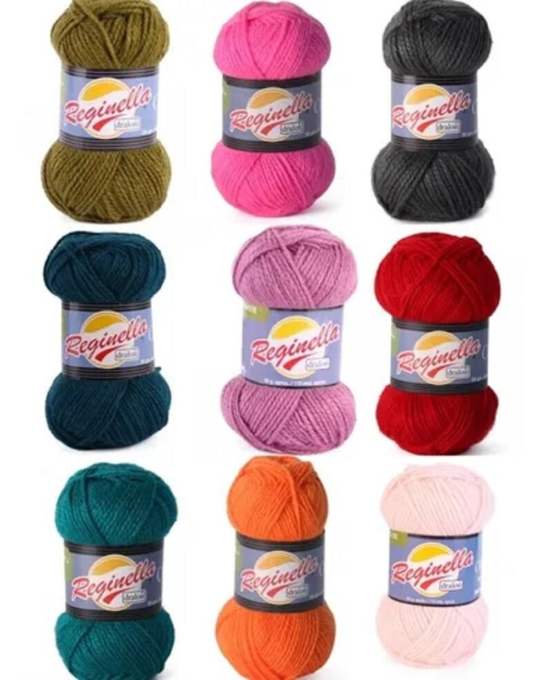 Lanas pack 10 ovillos de colores surtidos