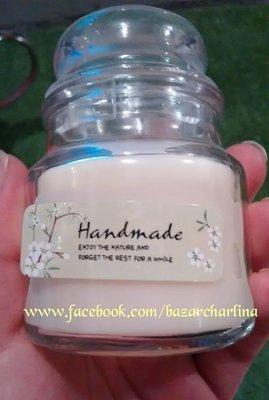 Etiqueta Adhesiva Hand Made  75 Unid
