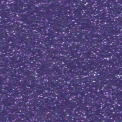 Purple Soft Glitter HTV