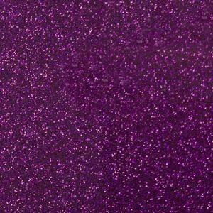 Purple Glitter HTV