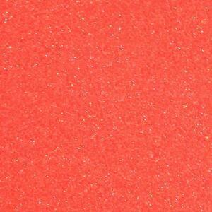 Fluorescent Grapefruit Glitter HTV