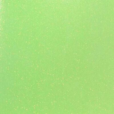 Fluorescent Green Glitter HTV