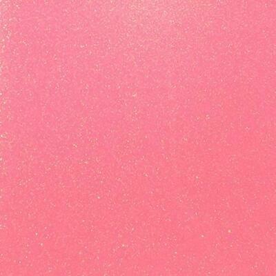 Fluorescent Pink Glitter HTV