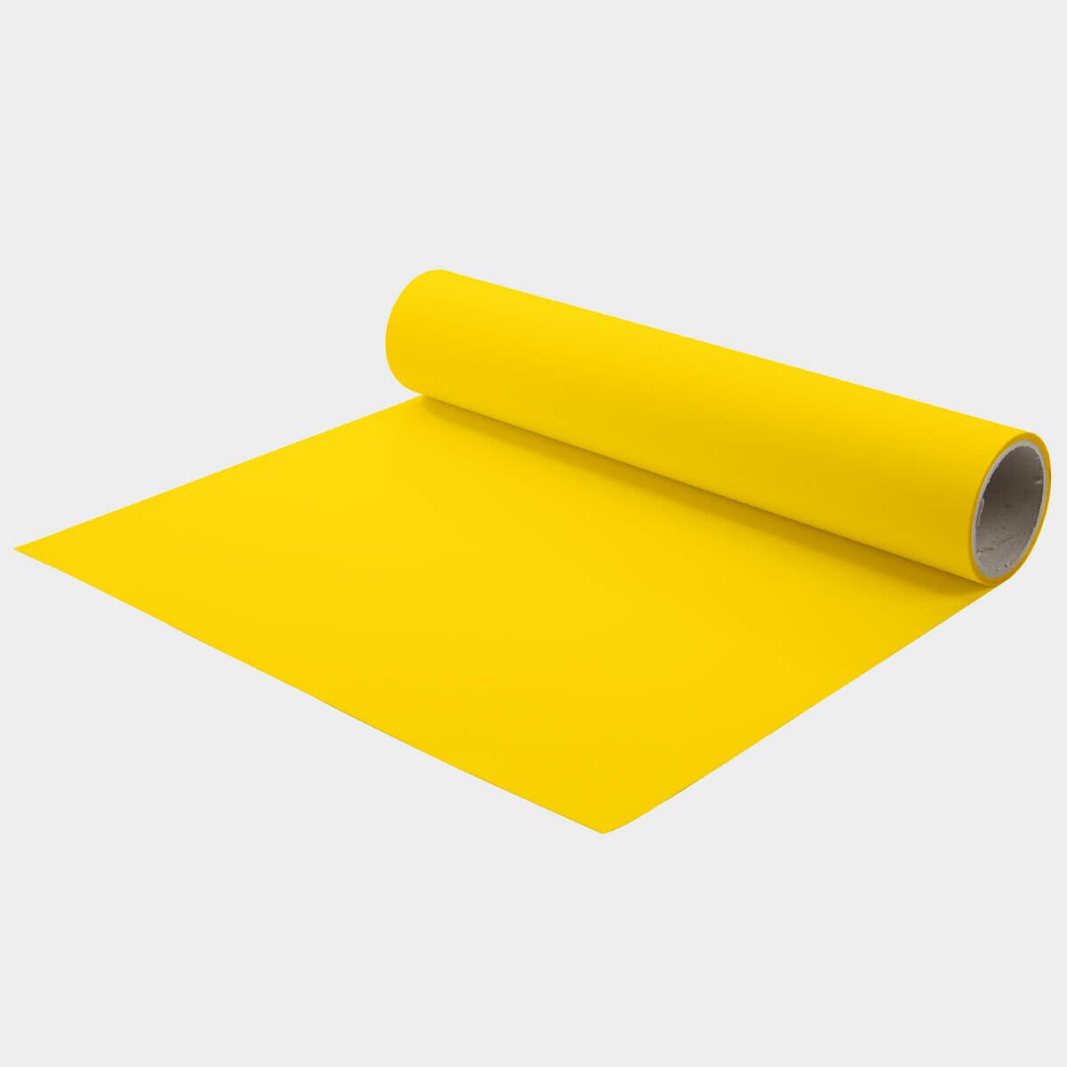 Golden Yellow Quickflex Revolution HTV - Large Roll