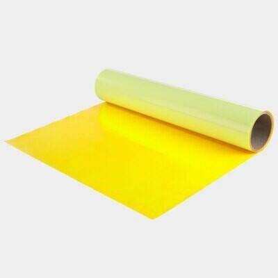 Fluo Yellow Quickflex Revolution HTV - Large Roll
