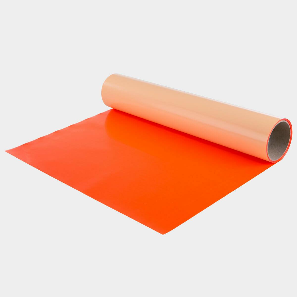 Fluo Orange Quickflex Revolution HTV - Large Roll