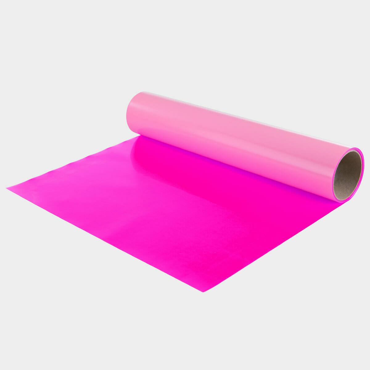 Fluo Pink Quickflex Revolution HTV - Large Roll