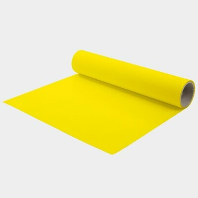 Lemon Yellow Quickflex Revolution HTV - Large Roll