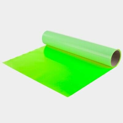 Fluo Green Quickflex Revolution HTV - Large Roll