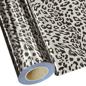 """20"""" Jaguar Silver Foil HTV"""