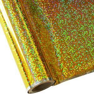 """20"""" Confetti Gold Foil HTV"""